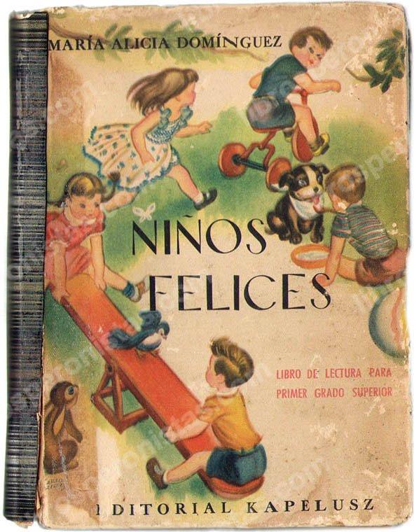 Niños felices, María A. Domínguez