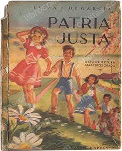 Patria Justa, de Luisa F. de García